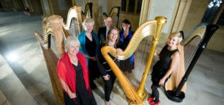 Glissando Harp Ensemble Shoreham Ropetackle